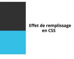 Des effets de remplissage en CSS
