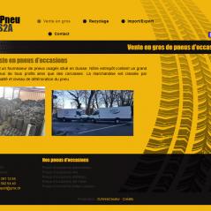 Site internet de Pneu S2A