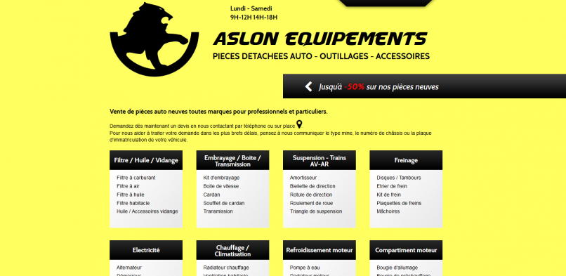 Aslon Equipements